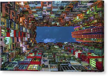 Complex Canvas Print - Starring Up by Andreas Agazzi