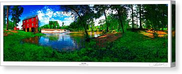 Starrs Mill 360 Panorama Canvas Print
