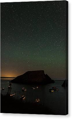 Constellation Canvas Print - Starry Island by Chris Dale