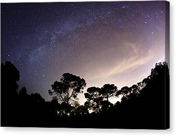 Wandering Star Canvas Print - Starry Nights by Emilio Lopez