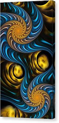 Canvas Print - Starry Night - Fractal Art by Anastasiya Malakhova