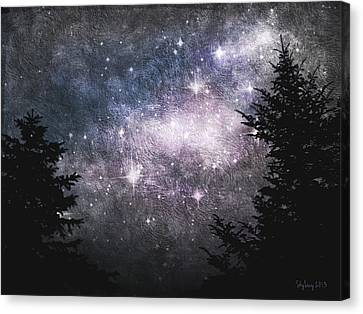 Starry Starry Night Canvas Print by Cynthia Lassiter