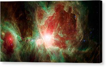 The Universe Canvas Print - Stars And Orion's Sword 2 by Jennifer Rondinelli Reilly - Fine Art Photography