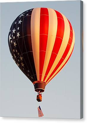 Stars And Stripes Canvas Print by Christopher James
