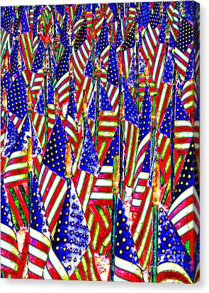 Stars And Stripes 20140821 Canvas Print by Wingsdomain Art and Photography