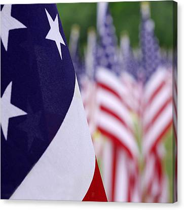 Stars And Stripes Canvas Print by Mike McGlothlen