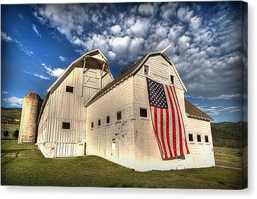 Independence Day Canvas Print - Stars And Stripes by Ryan Smith