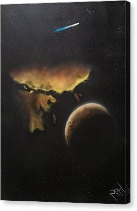 Stars Are What Dream Are Made Of Canvas Print by Michael Hall
