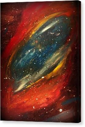 Stars Canvas Print by Crystal Starshine