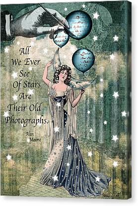 Starshine Canvas Print by Bellesouth Studio