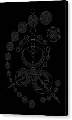 Starship Inverse Canvas Print by DB Artist