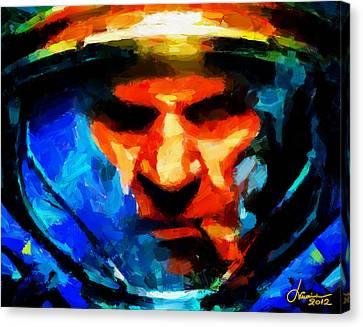 Startcraft - Let The War Begin Tnm Canvas Print by Vincent DiNovici