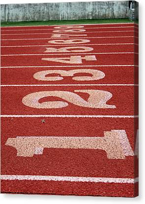 Starting Line Canvas Print by Shoal Hollingsworth