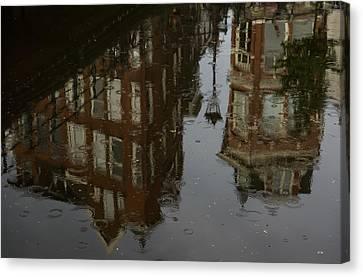Canvas Print featuring the photograph Starting To Rain... by Georgia Mizuleva