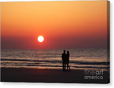 Starting Your Day Off Right With The One You Love Canvas Print