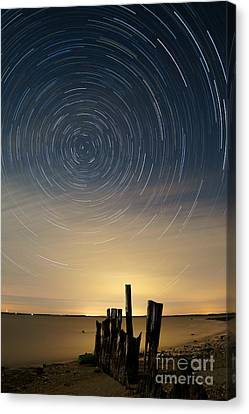 Startrails 2 Canvas Print by Benjamin Reed