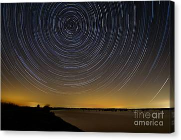 Startrails 3 Canvas Print by Benjamin Reed