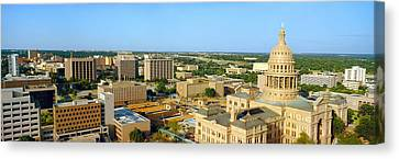 State Capitol, Austin, Texas Canvas Print by Panoramic Images
