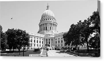State Capitol Building Canvas Print by Chris Smith