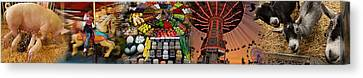 State Fair Canvas Print by Panoramic Images