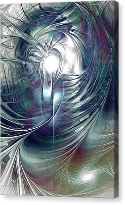 State Of Flux Canvas Print by Anastasiya Malakhova