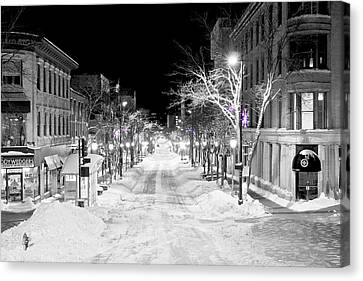 Canvas Print - State Street Madison by Steven Ralser