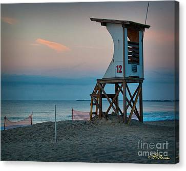 Canvas Print featuring the photograph Station 12 At Sunrise by Phil Mancuso