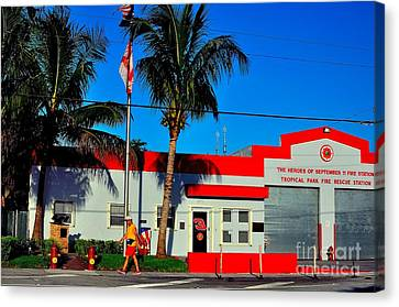 Station 3 Canvas Print by Andres LaBrada