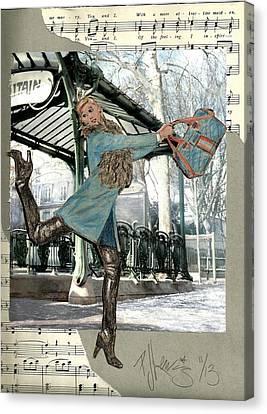 Station Dance Canvas Print