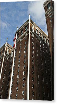 Statler Towers Canvas Print by Peter Chilelli