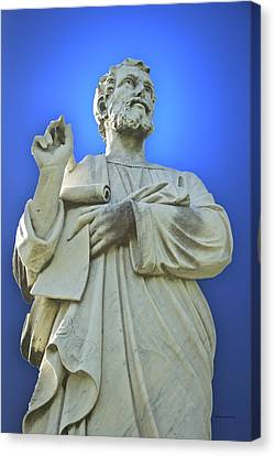 Statue 03 Canvas Print by Thomas Woolworth