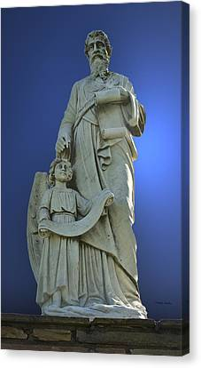 Statue 05 Canvas Print by Thomas Woolworth