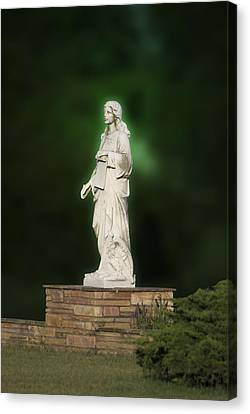 Statue 07 Canvas Print by Thomas Woolworth