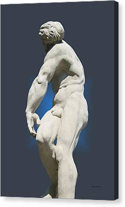 Statue 10 Canvas Print by Thomas Woolworth