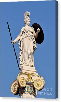 Statue Of Athena Canvas Print
