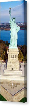 Statue Of Liberty, New York, Nyc, New Canvas Print