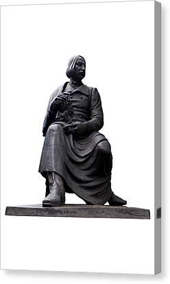 Statue Of Nikolai Gogol  Canvas Print by Fabrizio Troiani