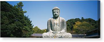 Statue Of The Great Buddha, Kamakura Canvas Print by Panoramic Images