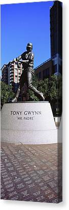 Petco Park Canvas Print - Statue Of Tony Gwynn At Petco Park, San by Panoramic Images
