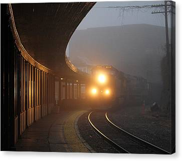 Staunton Virgina Train Canvas Print