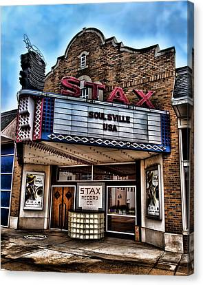 Stax Records Canvas Print by Stephen Stookey