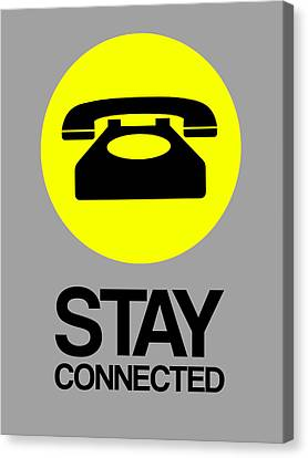 Stay Connected 1 Canvas Print by Naxart Studio