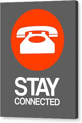 Stay Connected 2 Canvas Print by Naxart Studio