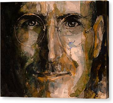 Canvas Print featuring the painting Steve... by Laur Iduc