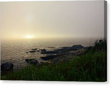 State Of Rhode Island Canvas Print - Steady Light by Lourry Legarde