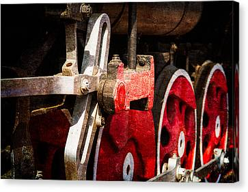 Steam And Iron - Link Motion Drive Canvas Print by Alexander Senin
