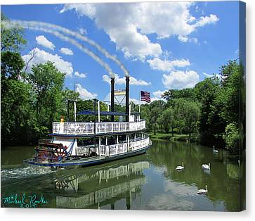 Steam Boat Suwanee Canvas Print