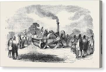 Steam Cultivation Crosskills Romaine Cultivator Canvas Print by English School