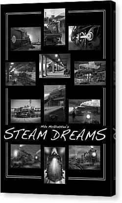 Steam Dreams Canvas Print by Mike McGlothlen