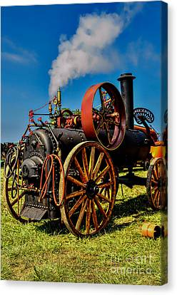 Steam Engine Canvas Print by Trey Foerster